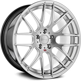 size 18x9 Bolt Pattern 5x112 M220-GSM512189035 Avant Garde M220 in Silver with Machined Face and lip