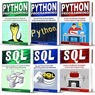Programming for Beginners: 6 Books in 1     Python Programming: 3-Book Series, and SQL Programming: 3-Book Series              By:                                                                                                                                 Daniel Jones                               Narrated by:                                                                                                                                 Pete Beretta                      Length: 7 hrs and 16 mins     22 ratings     Overall 4.5