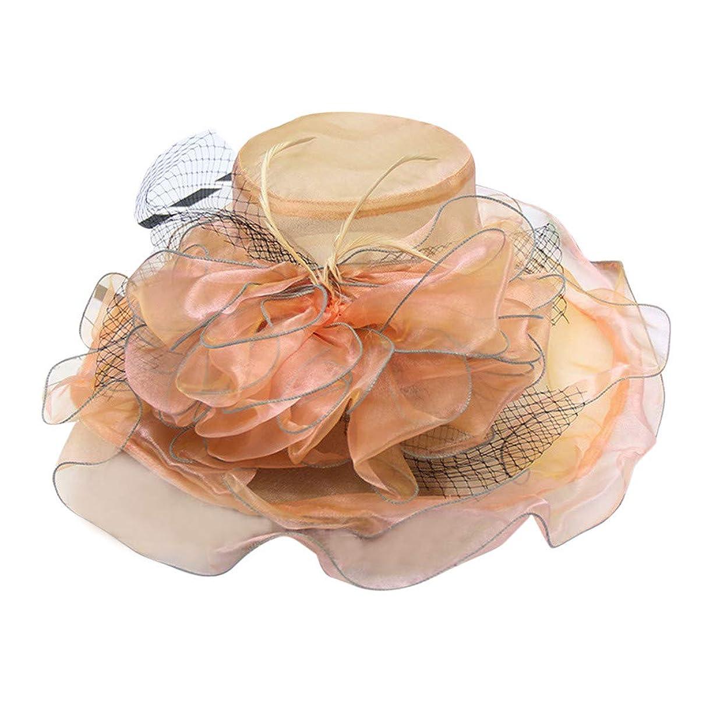 Kinglly Elegant Women's Travel Church Derby Fascinator Cap Kentucky Tea Party Wedding Hat