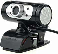 HD 1080P Webcam with Microphone for Desktop Standing and Clip-on,PC USB Video Web Camera Cam Live Streaming 90-Degree Exte...
