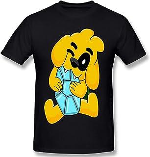 maichengxuan Mikec-Rack - Camiseta de manga corta con estampado en 3D para hombre, color negro