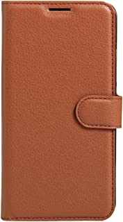 MEI1JIA For Huawei Enjoy 6s Litchi Texture Horizontal Flip Leather Case with Holder & Card Slots & Wallet (Black) (Color : Brown)