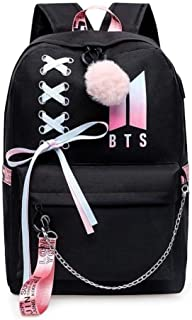 AliKpop USB BTS کوله پشتی Jimin Suga Jin Taehyung V Jungkook کره ای گاه به گاه کوله پشتی Daypack Laptop Bag