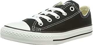 Converse Boy's Chuck Taylor All Star Low Top Shoe, Black, 2 M US Youth