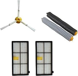 Side Brush&Hepa Filters&Bristle Brush for Irobot Roomba 800 900 Series Cleaner