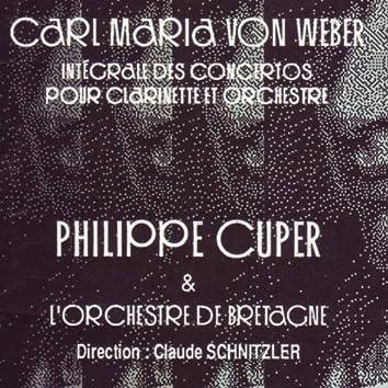 Weber : Intégrale des concertos pour clarinette et orchestre (Weber: Concertos for Clarinet and Orchestra)