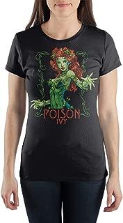 DC Comics Poison Ivy Women's Gray Tee Shirt T-Shirt