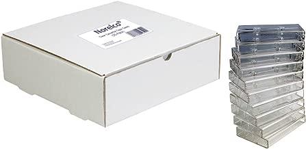 Norelco Plastic Cassette Tape Cases 25-Pack