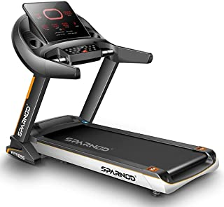 Sparnod Fitness STH-5700 (6 HP Peak) Automatic Treadmill (Free Installation Service) - Foldable Motorized Walking/Running ...