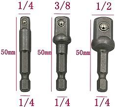 "3PCS Set 1/4"" 3/8"" 1/2"" | Impact Grade Socket Adapter | Hex Shank Adapter.."