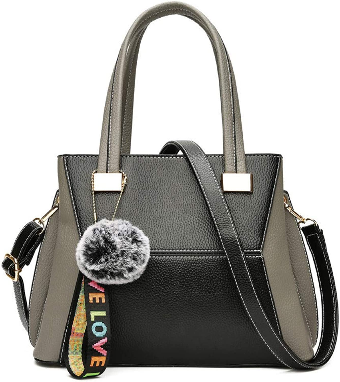LHKFNU for The New Handbag with Large Capacity and Single Shoulder Messenger Bag Handbag