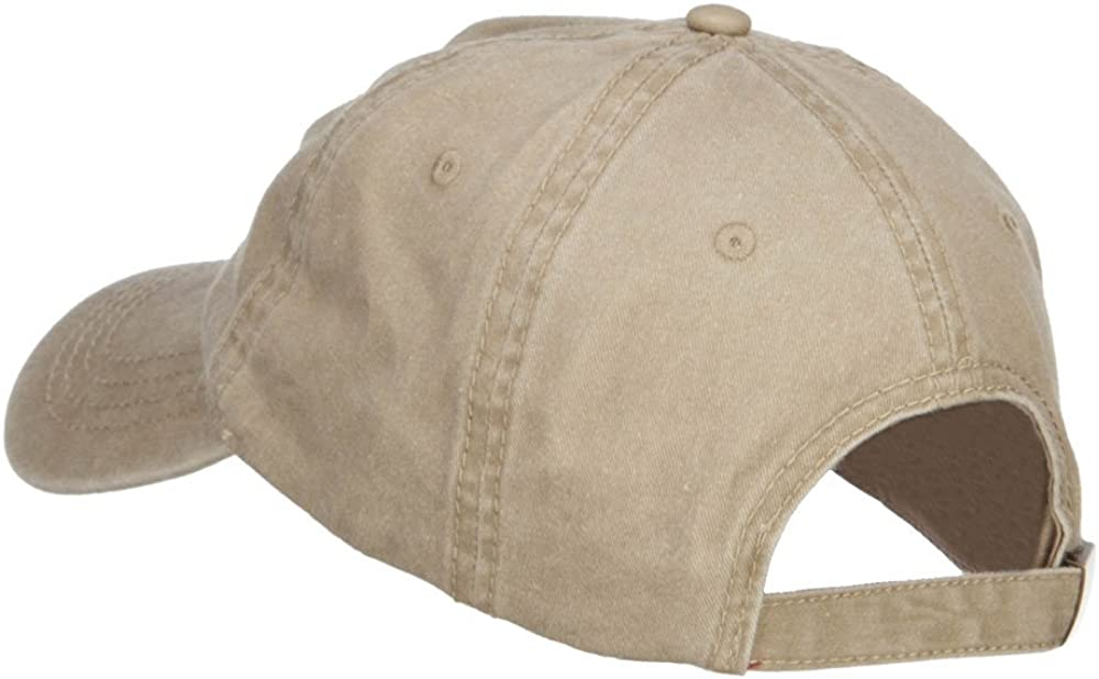 e4Hats.com US Navy Veteran Military Embroidered Washed Cap