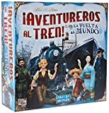 Days of Wonder-¡ Aventureros Al Tren-La Vuelta Al Mundo-Español, Color (Edge DW720826)