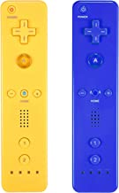 $32 » Sponsored Ad - Yosikr Wireless Remote Controller for Wii Wii U - 2 Packs Deep Blue and Yellow