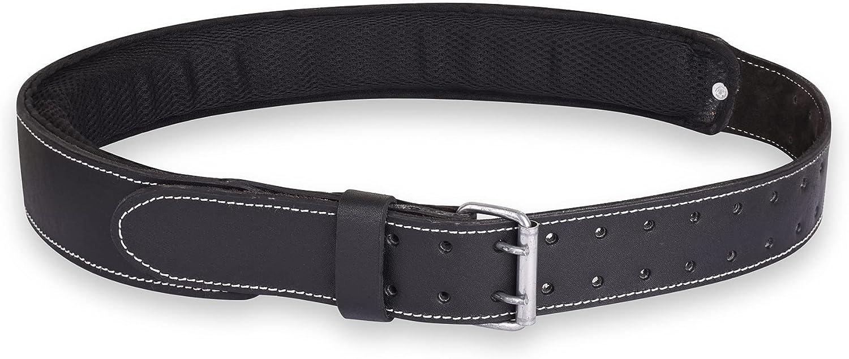 Premium Grain Leather Work Belt Max 63% OFF Padded Fr Bag Foam Chicago Mall Tool