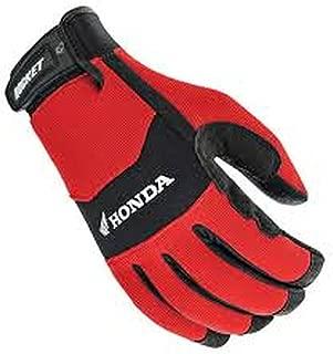 Joe Rocket 'Honda Crew Touch' Mens Red/Black Textile Motorcycle Gloves - Large