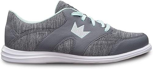 BRUNWICK , Chaussures de Bowling pour Femme - - Gey Mint, 39 EU