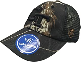Top of the World Georgia Tech Yellow Jackets Tow Black Realtree Camo Harbor Mesh Adjust Hat Cap