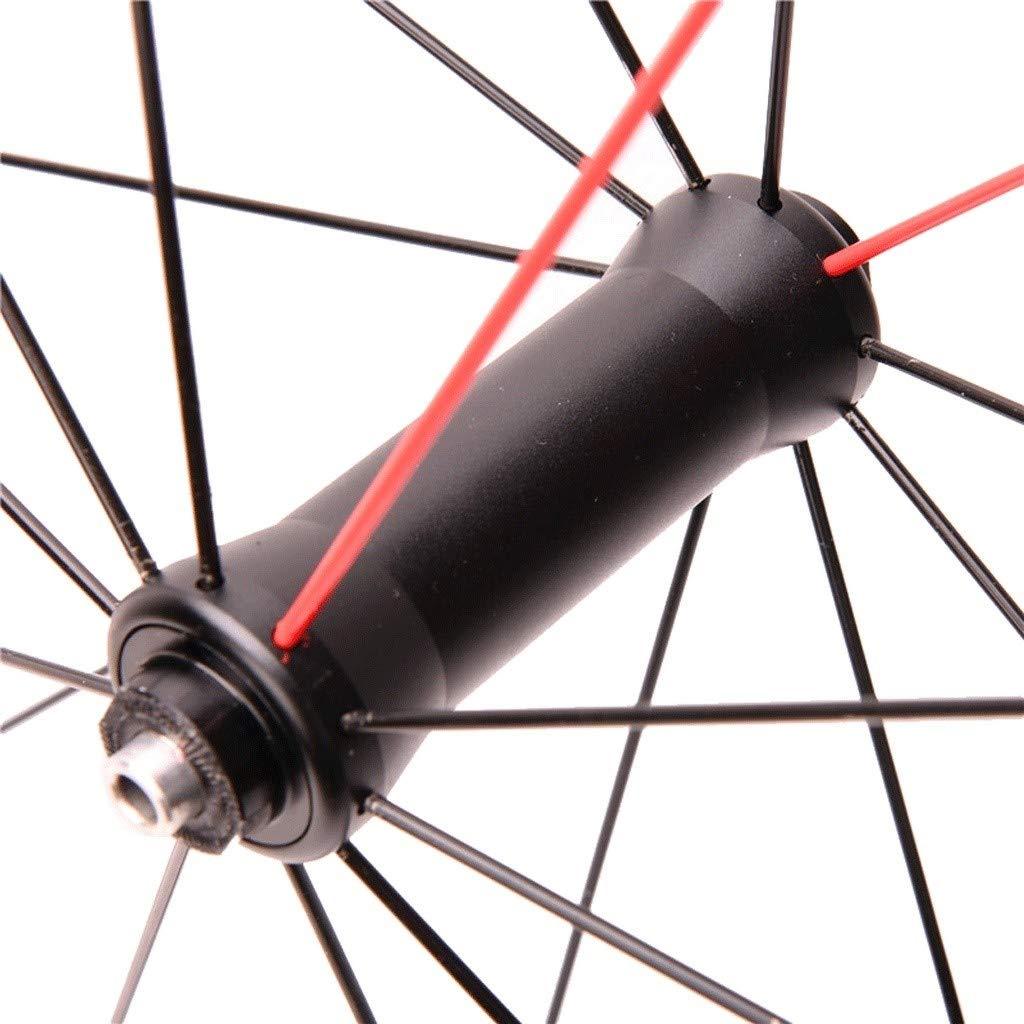 LSRRYD Juego Ruedas Bicicleta Carretera 700C Ruedas Delanteras Y ...