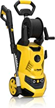 POWER Pressure Washer LTR-2700 PSI Electric 1.80 GPM Electric - Hose Reel - Super Compact - Portable - Ultra Low Sound - Power Efficient - Yellow