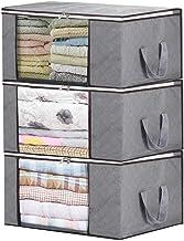 Afufu Torba do przechowywania, 3 opakowania składane pudełka do przechowywania o dużej pojemności, organizery, wodoodporne...
