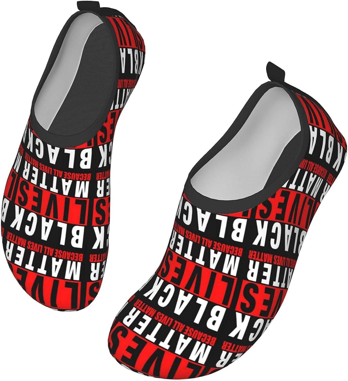 NEWKOW Men/Women Water Shoes Aqua Sock for Beach Yoga Pool Barefoot River Swim Sneaker