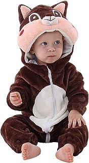 Michley Baby Unisex Flanell Babykleidung, mädchen und Junge Pyjama kostüm Bekleidung für Kinder von 0-24 Monaten