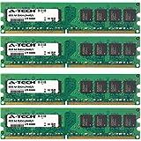4GB KIT (4 x 1GB) for Dell XPS Desktop Series 210 (DXC061) 400 (DXP051) 410 (DXP061) 420 625 630 630i 700 (DXG061) 720 720 H2C. DIMM DDR2 Non-ECC PC2-6400 800MHz RAM Memory. Genuine A-Tech Brand.