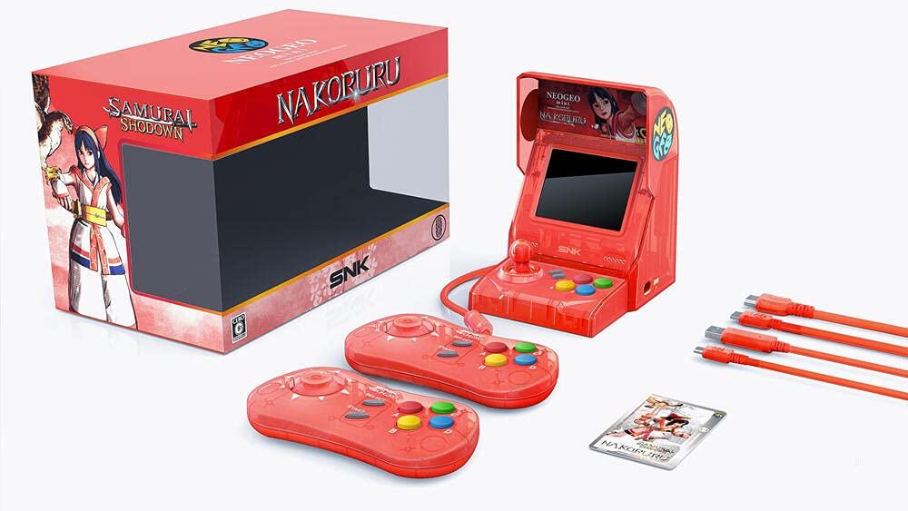 Neo Geo Tampa Mall Mini Samurai Shodown El Limited Direct stock discount Edition Bundle-Nakoruru