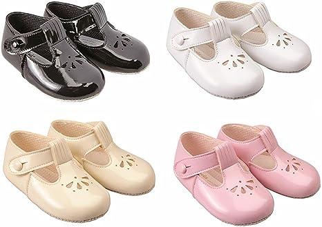 Baypods baby girls soft pram shoes by