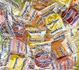 QUALITY SNACKS: These Old Fashioned Sunkist Fruit Gems Candies are chewy candies filled with a variety of bold and fruity flavors; Enjoy a blast of flavor with every delicious bite GREAT VARIETY: This Sunkist Fruit Gems Assortment includes five tangy...