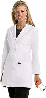 Grey's Anatomy Lab Coat for Women – Professional Full Length, Long Sleeve
