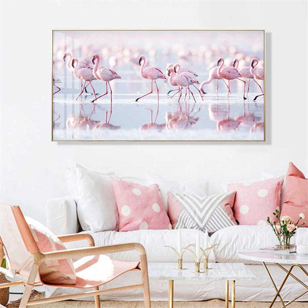 DIY 5D Diamond Painting by Number Embroi Bird Brand New color new Pink Kits