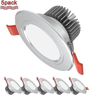 5pcs/lot LED Downlight Lamp 110V 220V Indoor Ceiling Recessed Downlight Round LED Spotlight 7W Three-Color dimming 220V A Series