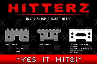 HITTERZ Ceramic Replacement Blade (Senior, Magic Clip, Balding, Designer) CL-WL3