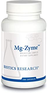 Biotics Research MgZyme Magnesium Glycinate - Improves Sleep, Promotes Relaxation, and Supports Overall Cardiovascular Hea...
