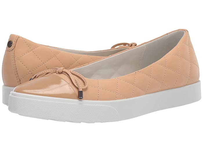 ECCO  Gillian Sneaker Ballerina (Powder/Powder Cow Leather/Cow Leather) Womens Flat Shoes