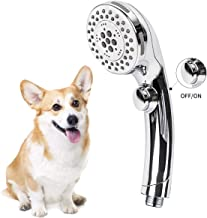 Pet Shower Set, Pet Bath Faucet Spray Dog Shower for for Washing Pets, Bathing Child and Cleaning Tub Hand Shower Spray Fa...