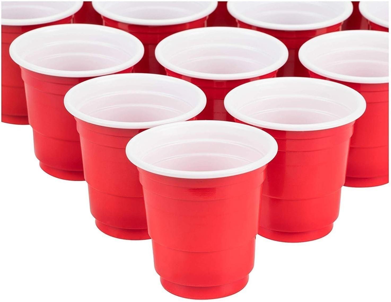 Unknown1 Plastic Shot Glasses 1.8 Disposable Mini Cups Latest 100% quality warranty! item Party Oz