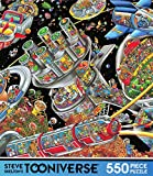 Steve Skelton's Tooniverse 550 Piece Puzzle - Space Colony