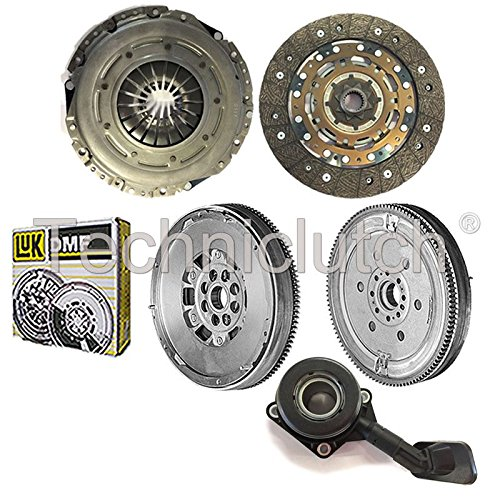 NATIONWIDE CLUTCH DISC DRIVEN PLATE AND PRESSURE PLATE AND LUK DUAL MASS FLYWHEEL AND CSC (4 PART KIT) 8944780116938