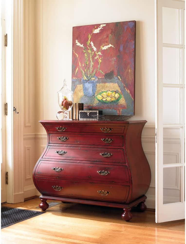 Hooker Furniture Al sold out. Adagio Red Chest Accent Bombe New arrival