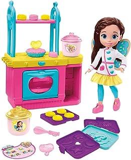 Fisher-Price Nickelodeon Butterbean's Café Magical Hornear y Mostrar Horno y Muñeca de 11 pulgadas, juego musical de cocina con luces sonidos y más, es un gran regalo para niños de 3 a 5 años