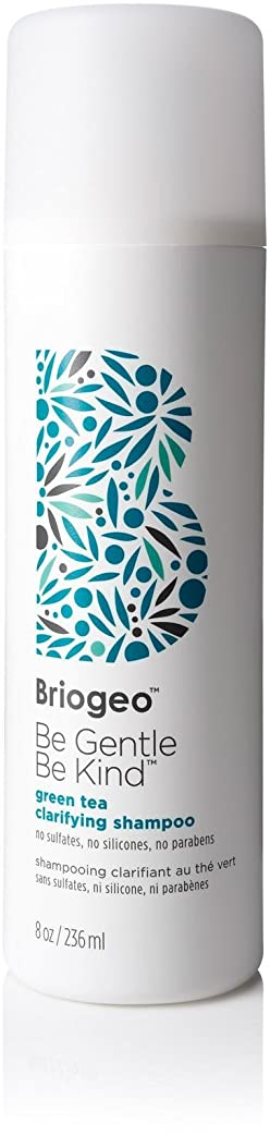 通行人陰気コンデンサーBriogeo - Be Gentle, Be Kind Green Tea Clarifying Shampoo (8 oz.) [並行輸入品]