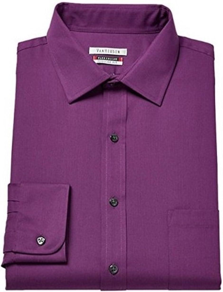 Van Heusen Men's Flex Collar Sale Special Free shipping Price Sleeve Pincord Regular-Fit Dre Long