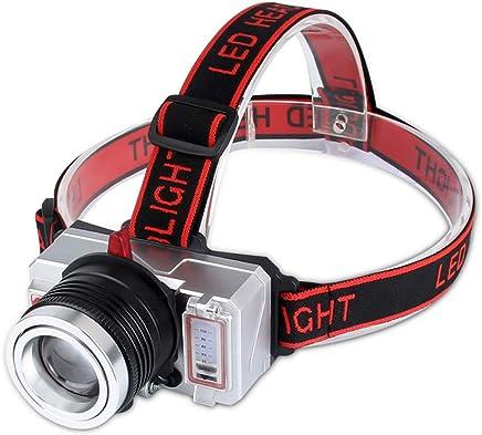 Kw-tool Wiederaufladbare Stirnlampe, Super Super Super Bright 3  Xpe2 Docht (weiß, gelb, blau), USB-Aufladung, Geeignet für Jagd, Camping, Angeln, Radfahren, Wasserdicht (4000Mah, 13H) B07Q4MDSG7     | Nutzen Sie Materialien voll aus  0463f4