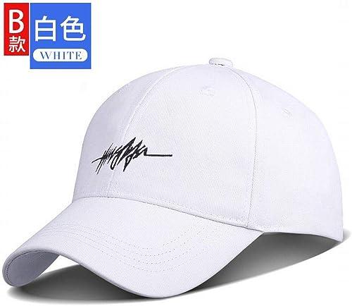 Zhouzhou666 Chapeau, Couple, Homme, Sauvage, Casquette Noire, Visière, Casquette Baseball, Voyage, Femme