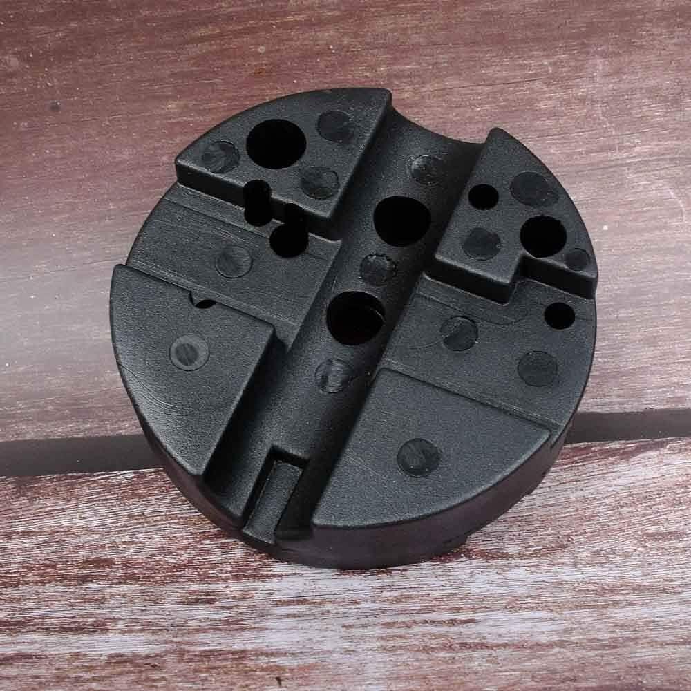 XFB-Herramienta, Arma de Fuego Universal de Banco Durable Bloque armero Arma de Mano Herramientas Gunsmithing Pistolas (Color : Negro)