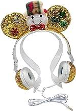 Homyl Fone de ouvido com fio para boneco de neve, HiFi com microfone, com cancelamento de ruído, com interface portátil pr...