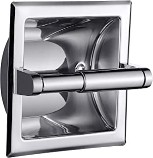 Best chrome recessed toilet roll holder Reviews